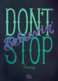 Oldies But Goodies Typography by Rachel Krueger, via Behance