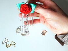 Geschenke für Frauen - Halskette muttertag Glamour - ein Designerstück von atelier-house-decor bei DaWanda