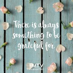 What are you grateful for today? It is important to notice the little things in…
