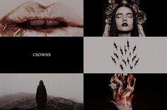 Three Dark Crowns aesthetic (3/3)