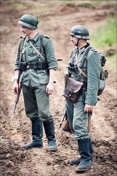 German infantry 1940-1942.