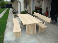 Gartenmoebel aus Eiche1 Picnic Table, Furniture, Home Decor, Homemade Home Decor, Home Furnishings, Picnic Tables, Decoration Home, Arredamento, Interior Decorating