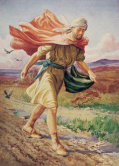 The Sower, by George Soper. Kennst du das Gleichnis vom Sämann? Will man gute Ernte haben, Erfolg haben, muss man auch den Boden vorher gut vorbereiten.
