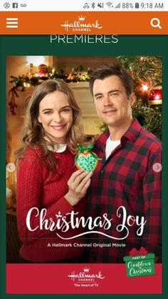"Get video, photos and more for the Hallmark Channel original movie ""Christmas Joy,"" starring Danielle Panabaker and Matt Long. Romantic Christmas Movies, Xmas Movies, Holiday Movie, Family Movies, Christmas Wedding, Hallmark Holidays, Hallmark Christmas Movies, Hallmark Movies, Hallmark Channel"