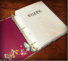How to Make a Wedding Planning Binder: Your Easy Step-by-Step Guide » Gagen Girls