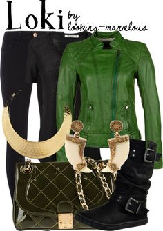"""""""loki"""" by marvel-ous ❤ liked on Polyvore"""