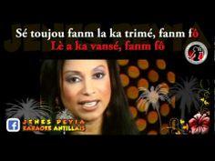 ▶ Jeux de dames - Fanm fo Karaoké Créole Playback - YouTube