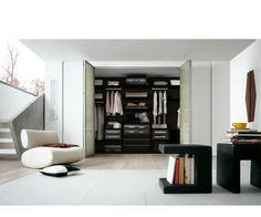 LA Closet Design....love the modern simplicity of this - so much I can't stand it!!