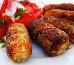 Exquisito Vegetariano!: Croquetas de verduras (veganas)
