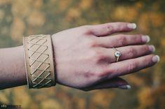 Leather ladies bracelet