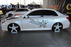 Rob Barkley Shows Off Turbo Charged 2008 Subaru WRX at SEMA 2011 in Las Vegas, Nevada