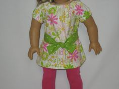 Reserved for talegrand - American Girl Doll Clothes - Happy Easter Outfit