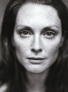 Julianne Moore photographed by Patrick Demarchelier.
