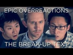 Epic Overreactions | The Break-Up Text ft Matthiasiam hahahahah I'm crying!!