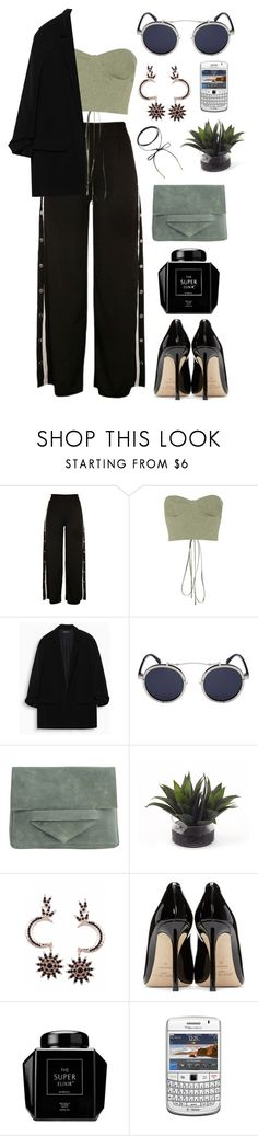 """""""Walk"""" by mode-222 ❤ liked on Polyvore featuring Off-White, Pieces, John-Richard and Jimmy Choo"""