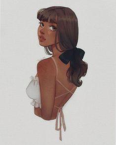 ☆ t a s i a ☆ on Ins Cartoon Art Styles, Cute Art Styles, Black Girl Art, Black Women Art, Cartoon Girl Drawing, Girl Cartoon, Art Drawings Sketches, Cute Drawings, Art Inspiration Drawing