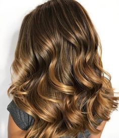 Brown hair with blonde highlights,autumn hair colors,caramel hair, brown hair color ideas to try