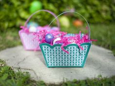 Let the kids make their own basket by printing our free basket pattern and folding it into a cute basket.