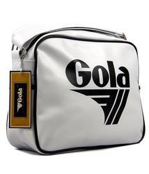 62d0ff93b2 GOLA Redford Retro 70s Sports Shoulder Bag WHT BLK