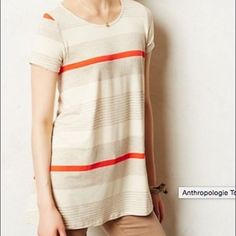 Puella Swing T Shirt Very soft. Very loose. Anthropologie Tops Tees - Short Sleeve