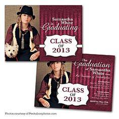 Eclasia Graduation Announcement