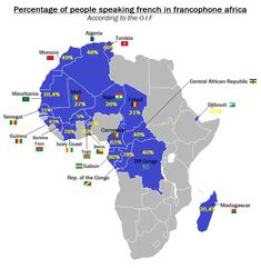 ng News ★ In this article, we will discuss FRANCOPHONE COUNTRIES in West Africa. Now the French language in Africa is more than the legacy of the colonialists. French West Africa, Africa Map, Africa Continent, How To Speak French, African Countries, Historical Maps, Ivory Coast, African History, French Language
