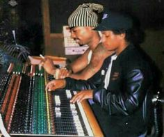 """""""Pac and Easy in the lab... R.I.P. my g's."""
