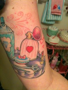 such a cute girlie tattoo