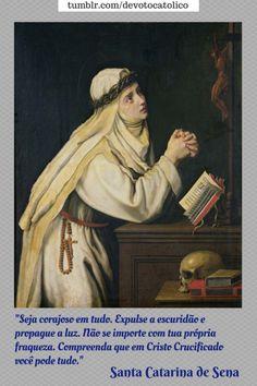 St Catherine Of Siena, Saint Dominic, Mystic, Catholic, Cool Pictures, Saints, Prayer Of Saint Francis, Santo Domingo, Cute Pictures