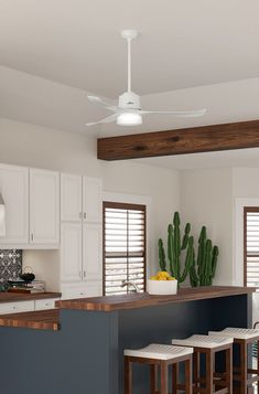 Here's What You Need From a Kitchen Ceiling Fan - Decorology