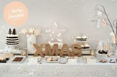 Caramel Cookie - Xmas sweet table