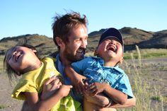 So much laughter. The Gobi Desert, Mongolia