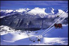 Whistler, Canada. Looks like an awesome place to go snow boarding!!