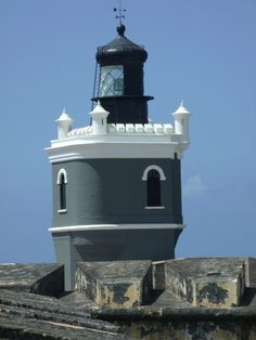 Puerto San Juan (El Morro) Lighthouse, Puerto Rico by Adam Ariscruz