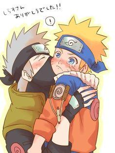 A cover kiss Naruto Uzumaki Shippuden, Naruto Kakashi, Anime Naruto, Naruto Teams, Naruto Fan Art, Naruto Comic, Wallpaper Naruto Shippuden, Naruto Cute, Naruto Funny