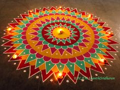 Happy Diwali Rangoli, Easy Rangoli Designs Diwali, Rangoli Designs Latest, Latest Rangoli, Rangoli Designs Flower, Rangoli Patterns, Colorful Rangoli Designs, Rangoli Ideas, Rangoli Designs Images