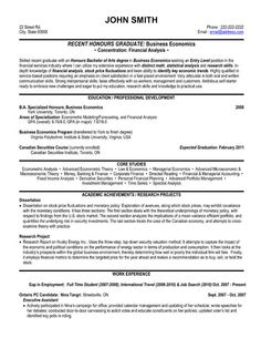 A Resume Template For Financial Analyst You Can Download It And Make Your