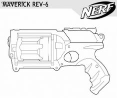 18 Best Coloring Pages Images Guns Nerf Toys Colouring Pages