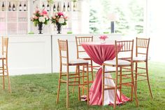 A few tall bar tables could be nice. Engagement Party Decorations, Garden Wedding Decorations, Reception Decorations, Table Decorations, Tall Bar Tables, Cool Tables, Cocktail Table Decor, Cocktail Tables, Table Haute