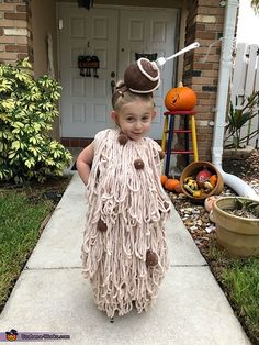 Food Halloween Costumes, Halloween Tags, Halloween Costume Contest, Creative Halloween Costumes, Diy Costumes, Halloween Party, Costume Ideas, Food Costumes For Kids, Homemade Costumes