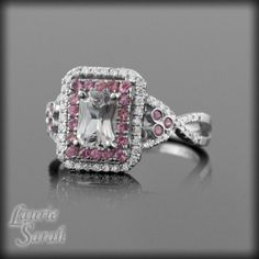 Light Pink Diamond Engagement Rings 22