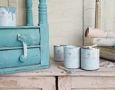 Ooh La La, Sassoon? No, it's Shabby Chic Milk Paints!