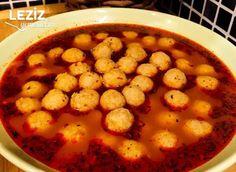 Sulu Kıymalı Bulgur Köftesi Iftar, Chana Masala, Salsa, Soup, Vegetables, Eat, Ethnic Recipes, Dishes, Recipe
