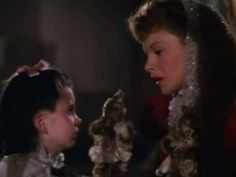 "Love Judy Garland singing 'Have  Yourself a Merry Little Christmas' in ""Meet Me In St. Louis."""
