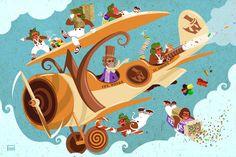 Willy Wonka by Phillip Ellering