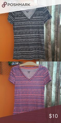 Aztec short sleeve t-shirts. Both new without tags but never worn. I am selling them together for $10. Mossimo Supply Co Tops Tees - Short Sleeve