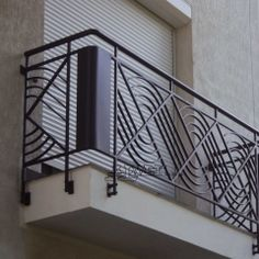 balcony wrought iron railings