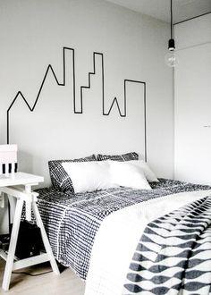 DIY faciles pour pimper sa chambre à coucher - Muramur. Texte: Chloé Comte.