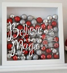 A personal favorite from my Etsy shop https://www.etsy.com/listing/253175225/believe-in-the-magic-christmas-holiday  Christmas decals for shadow boxes and other christmas crafts and diy projects