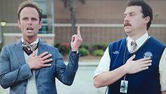 """Walton Goggins & Danny McBride in """"Vice Principals"""" Danny Mcbride, Walton Goggins, Vice Principals, Hbo Series, Movies Showing, Movie Tv, Jackson, Tv Shows, Entertainment"""